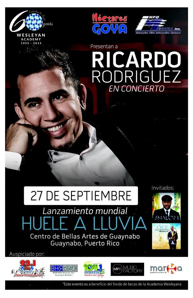 Ricardo Rodriguez en Concierto